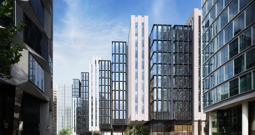 London Wall Place 3D Glasswall